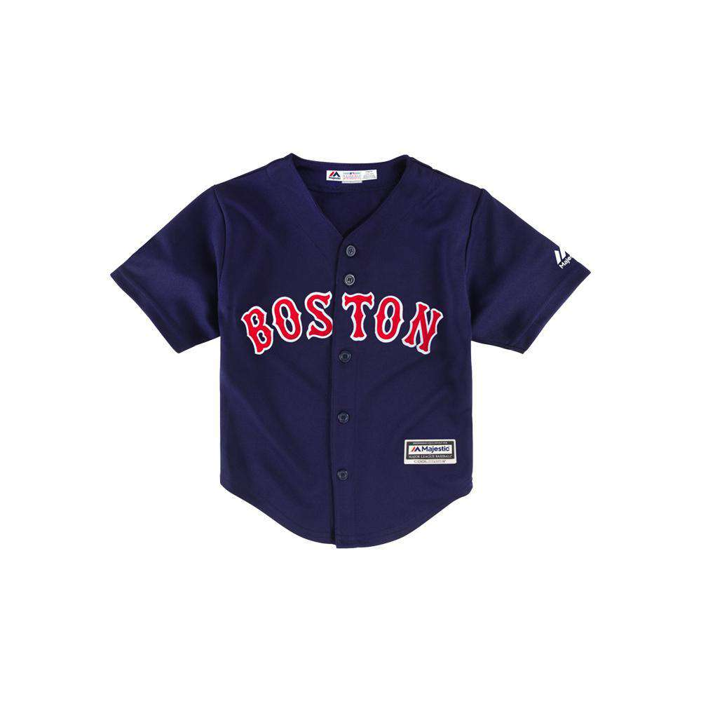 06185df3013 Infants Boston Red Sox Majestic MLB Cool Base Replica Jersey - Navy ...