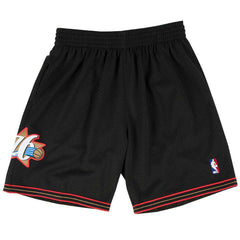 Philadelphia 76ers Mitchell & Ness NBA HWC Swingman Shorts - Black