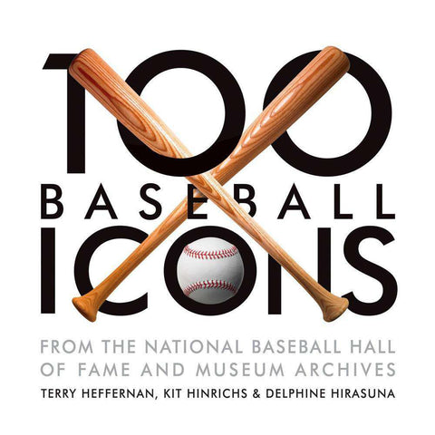 100 Baseball Icons MLB Hardcover Book