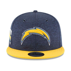 Los Angeles Chargers New Era NFL 2018 Sideline 9FIFTY Snapback Hat - Navy