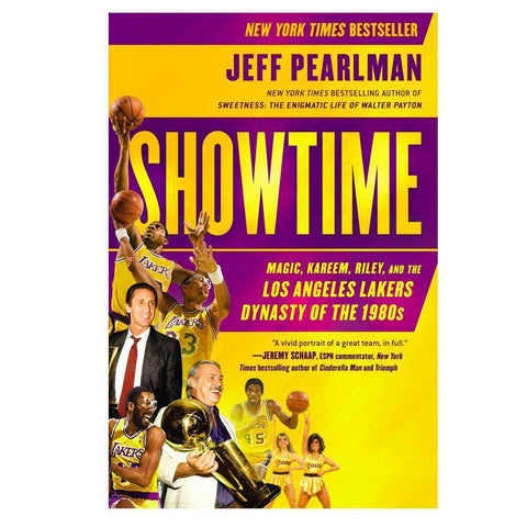 Showtime: Los Angeles Lakers Dynasty of the 1980s NBA Basketball Paperback Book