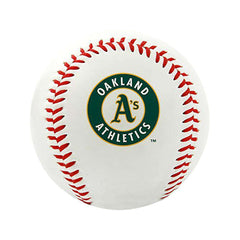 Oakland Athletics Rawlings MLB Team Logo Baseball Ball