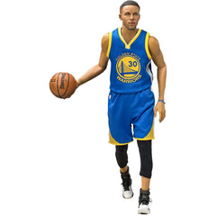 "Steph Curry Golden State Warriors Enterbay NBA 1:6 Scale 12"" Figure"