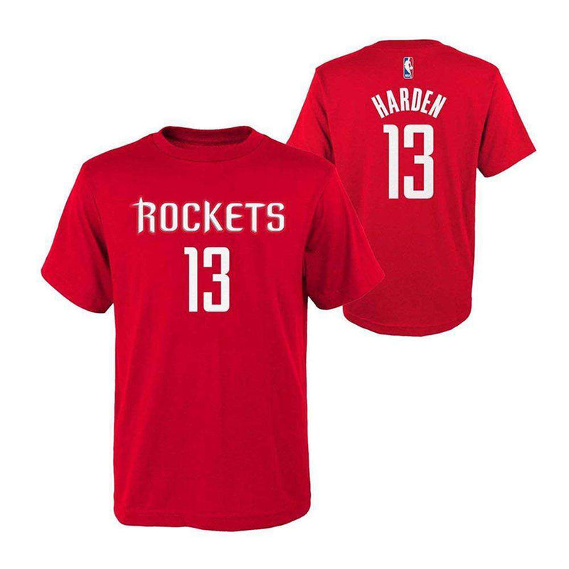 Youths James Harden Houston Rockets Outerstuff NBA Player T-Shirt - Red