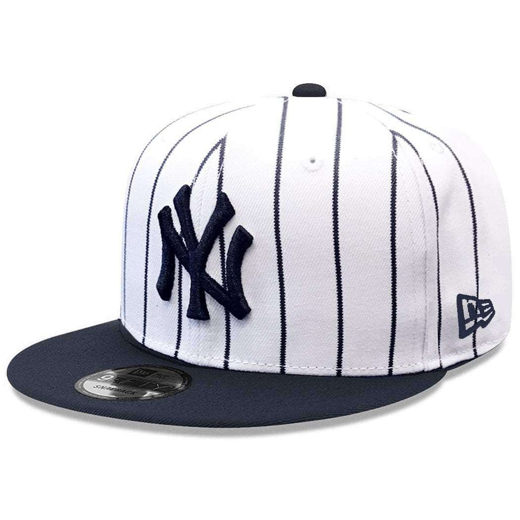 a52c9711c40 New York Yankees New Era MLB Alt Logo 9FIFTY Snapback Hat - White ...
