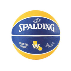 Kids Golden State Warriors Spalding NBA Size 5 Outdoor Team Basketball Ball