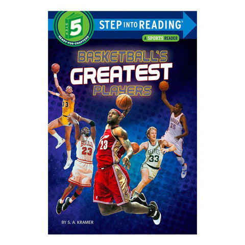 Kids Basketball's Greatest Players NBA Step into Reading Paperback Book