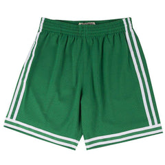 Boston Celtics Mitchell & Ness NBA HWC Swingman Shorts - Green