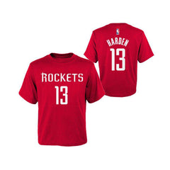 Toddler James Harden Houston Rockets Outerstuff NBA Player T-Shirt - Red