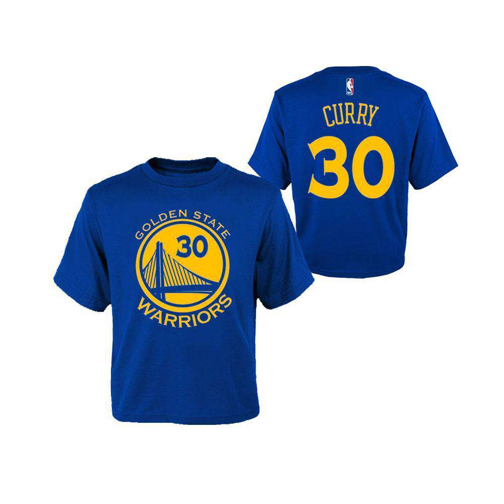 new styles d8707 5cfe5 Toddler Steph Curry Golden State Warriors Outerstuff NBA Player T-Shirt -  Blue