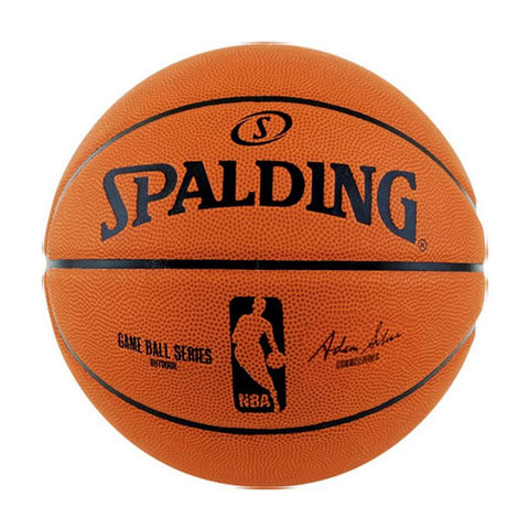 Youths Spalding NBA Replica Rubber Outdoor Basketball Ball - Size 6