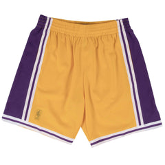 Los Angeles Lakers Mitchell & Ness NBA Swingman Shorts - Gold