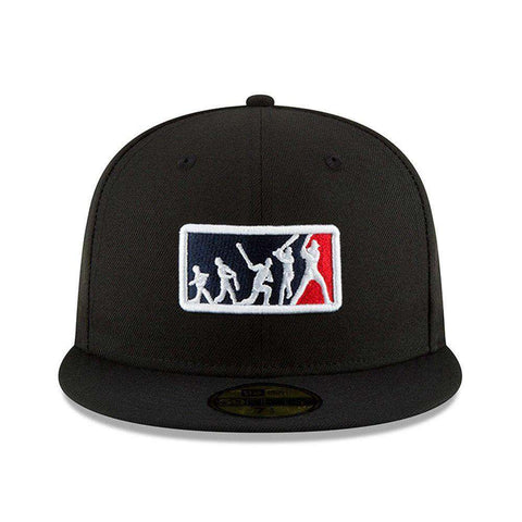 2018 Players Weekend MLB Umpires Logo New Era AC On-Field 59FIFTY Fitted Hat - Black