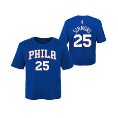 Toddler Ben Simmons Philadelphia 76ers Outerstuff NBA Player T-Shirt - Blue