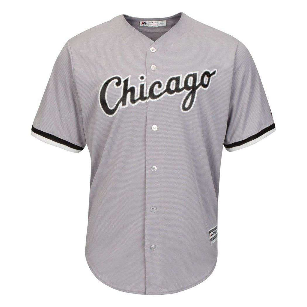 f85ae99a4 Chicago White Sox Majestic MLB AC Cool Base Replica Jersey - Grey ...