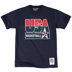 1992 USA Dream Team Mitchell & Ness NBA T-Shirt - Navy