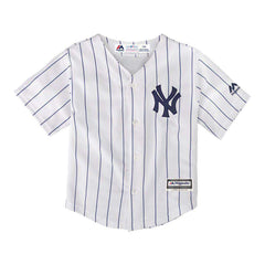 Boys New York Yankees Majestic MLB Cool Base Replica Jersey - White