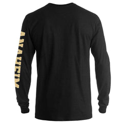 Anaheim Ducks '47 NHL Rundown Long Sleeve T-Shirt - Black