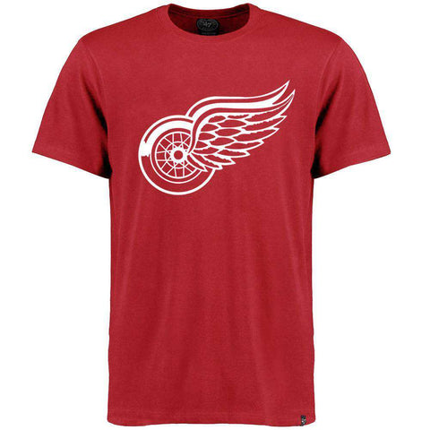 Detroit Red Wings '47 NHL Frozen Rope T-Shirt - Red