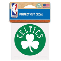 "Boston Celtics Wincraft NBA Perfect Cut 4"" x 4"" Decal"