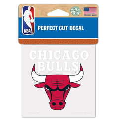 "Chicago Bulls Wincraft NBA Perfect Cut 4"" x 4"" Decal"