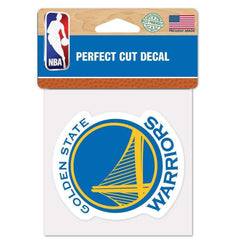 "Golden State Warriors Wincraft NBA Perfect Cut 4"" x 4"" Decal"