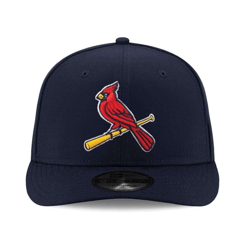 St Louis Cardinals New Era MLB Alt Team 9FIFTY Pre-Curved Snapback Hat - Navy