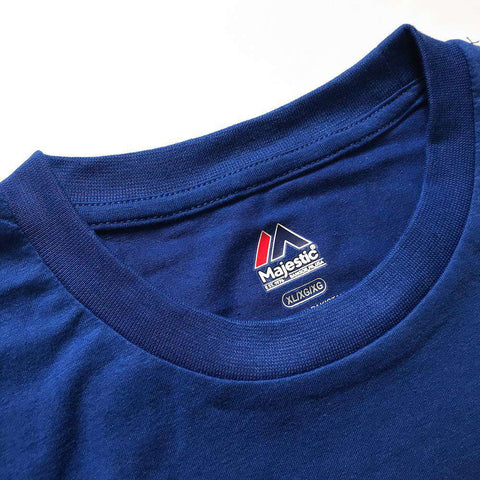 Los Angeles Dodgers Majestic MLB Precision Play T-Shirt - Blue