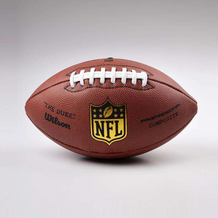 Wilson NFL Pro Duke Replica Full Size American Football Gridiron Ball