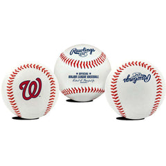 Washington Nationals Rawlings MLB Team Logo Baseball Ball