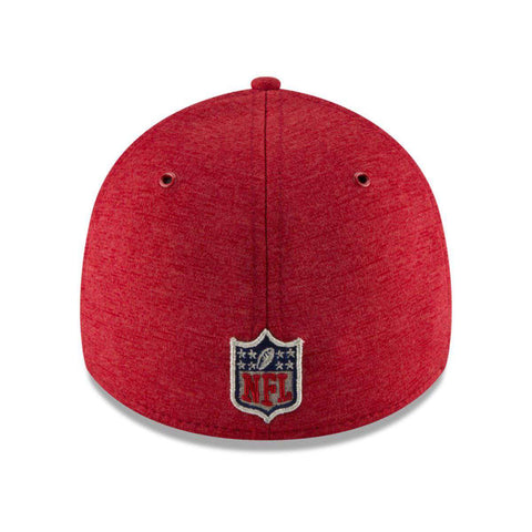 Atlanta Falcons New Era NFL 2018 Sideline 39THIRTY Stretch-Fit Curved Hat - Red
