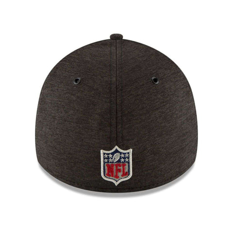 Carolina Panthers New Era NFL 2018 Sideline 39THIRTY Stretch-Fit Curved Hat - Black