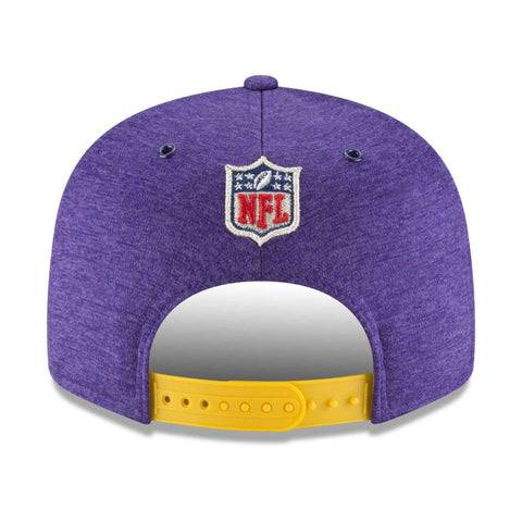 Minnesota Vikings New Era NFL 2018 Sideline 9FIFTY Snapback Hat - Purple