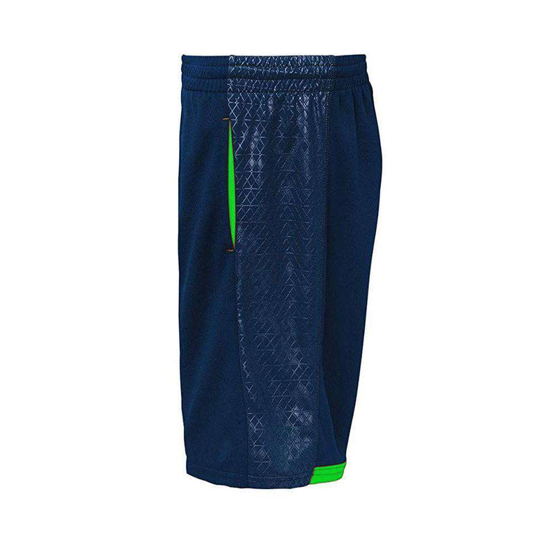 Youths Seattle Seahawks Outerstuff NFL Performance Vector Shorts - Navy