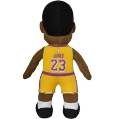 "LeBron James Los Angeles Lakers Bleacher Creatures NBA 10"" Plush Figure - Gold"