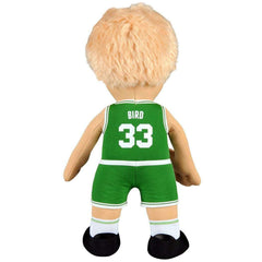 "Larry Bird Boston Celtics Bleacher Creatures NBA 10"" Plush Figure - Green"