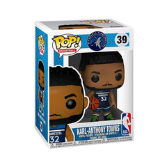 Karl-Anthony Towns Minnesota Timberwolves Funko NBA Pop 39 Figure - Navy