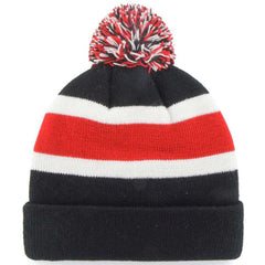 Chicago Blackhawks '47 NHL Breakaway Pom Cuff Knit Beanie