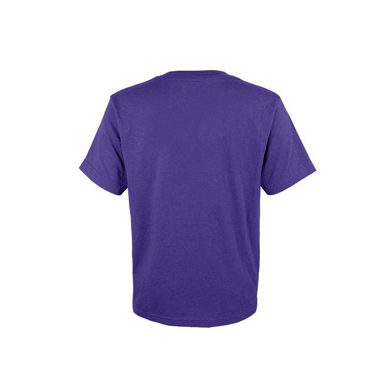 Kids Los Angeles Lakers Outerstuff NBA Logo T-Shirt - Purple