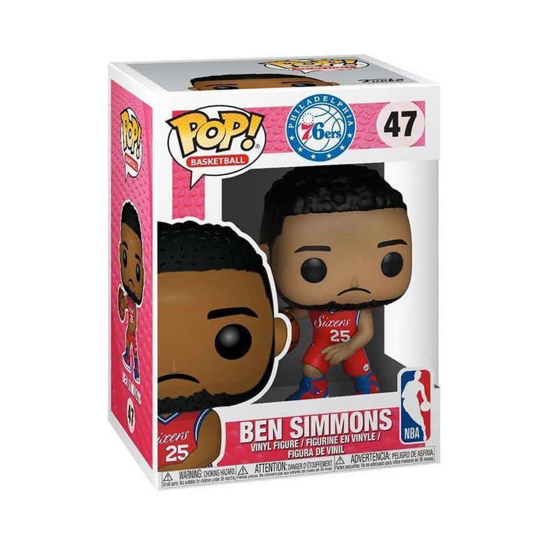 Ben Simmons Philadelphia 76ers Funko NBA Pop 47 Figure - Red