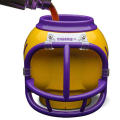 LSU Tigers FanMug NCAA Helmet Can/Multi Purpose Holder