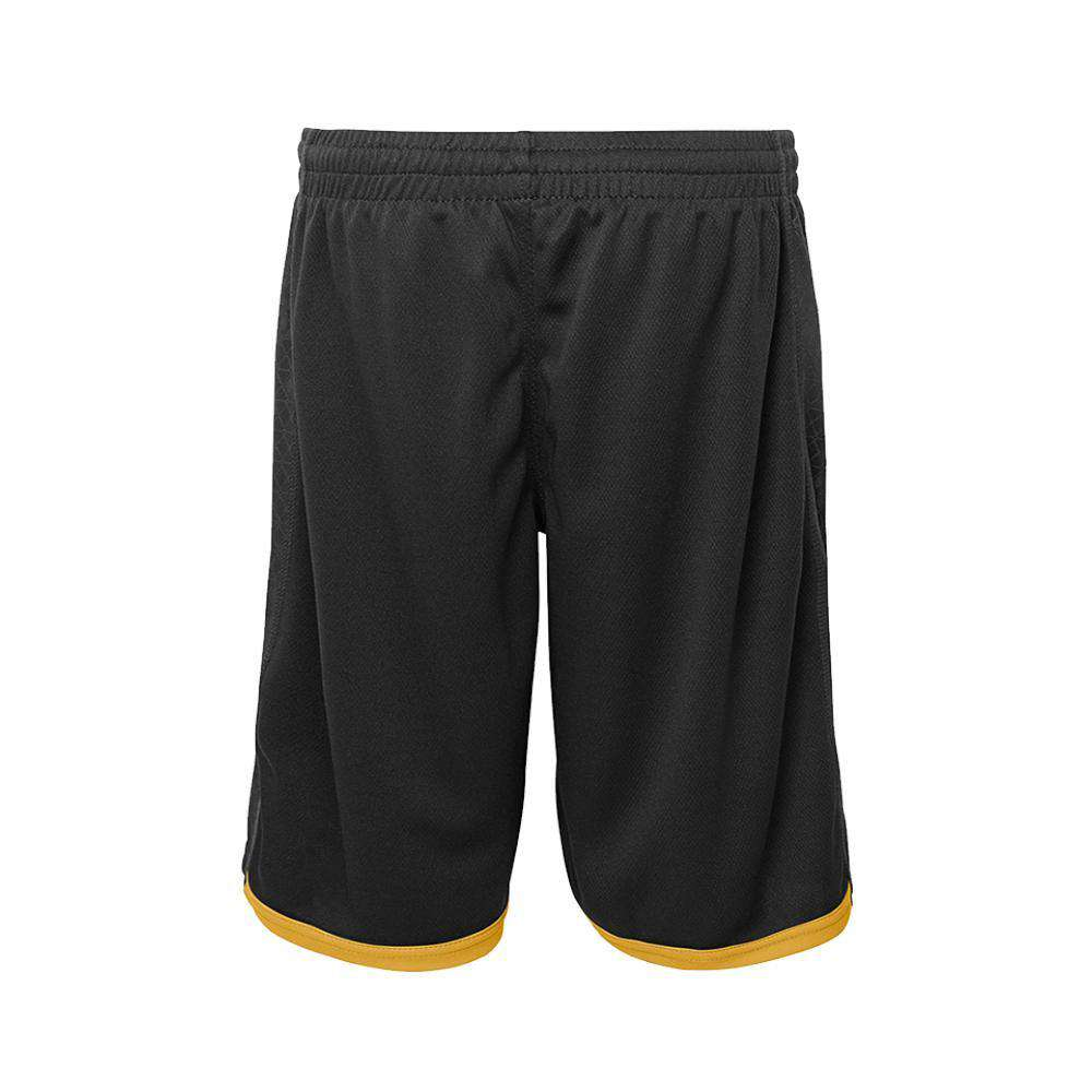 c8fdcab1 Youths Pittsburgh Steelers Outerstuff NFL Performance Vector Shorts - Black