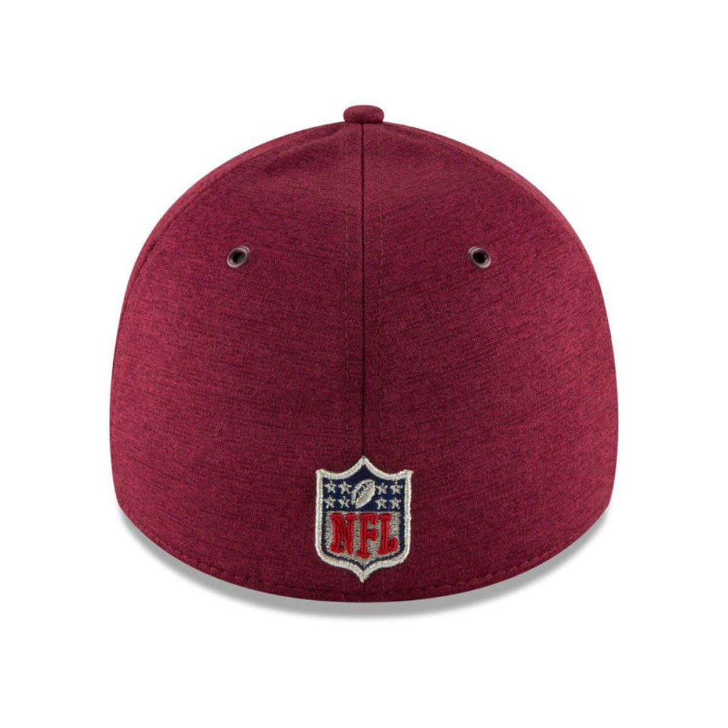 d16ec375 Washington Redskins New Era NFL 2018 Sideline 39THIRTY Stretch-Fit Curved  Hat - Burgundy