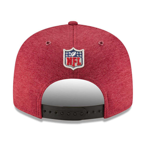 Arizona Cardinals New Era NFL 2018 Sideline 9FIFTY Snapback Hat - Cardinal