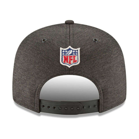 Philadelphia Eagles New Era NFL 2018 Sideline 9FIFTY Snapback Hat - Black