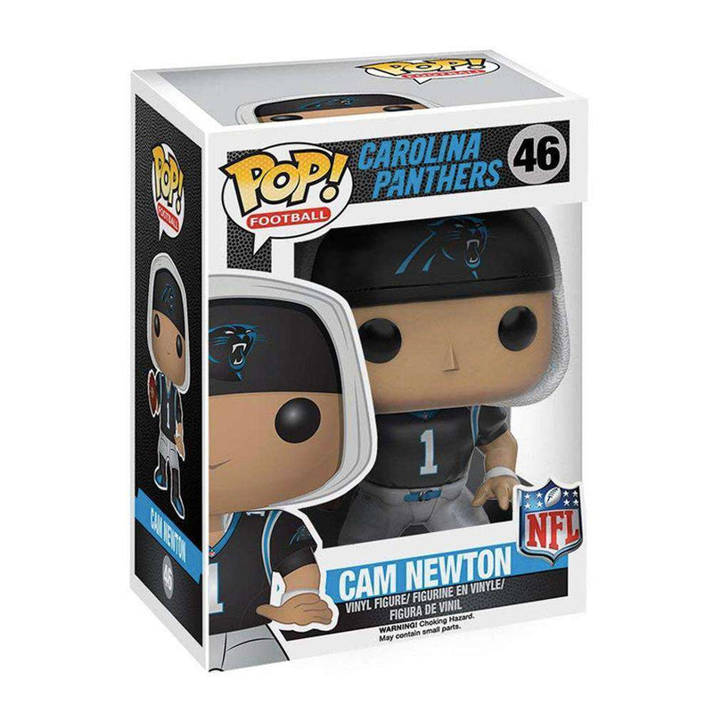 "Cam Newton Carolina Panthers NFL Funko Pop Vinyl 3.75"" Figure - Black"