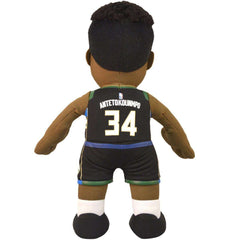 "Giannis Antetokounmpo Milwaukee Bucks Bleacher Creatures NBA 10"" Plush Figure - Black"