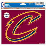 "Cleveland Cavaliers Wincraft NBA Multi-Use 4.5"" x 5.75"" Decal"