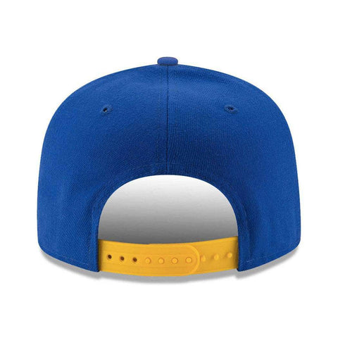 Golden State Warriors New Era NBA Team 9FIFTY Snapback Hat - Blue