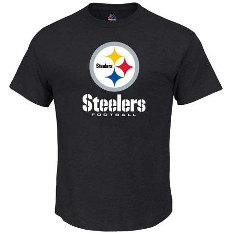 Pittsburgh Steelers Majestic NFL Critical Victory T-Shirt - Black